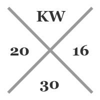 16kw30